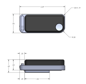 Fusion Module physical dimensions